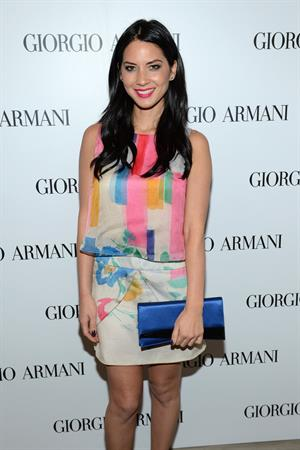 Olivia Munn Giorgio Armani Beauty Luncheon in Beverly Hills 12/6/12