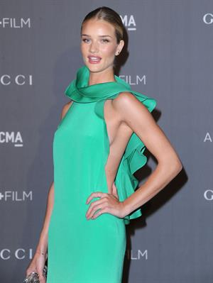 Rosie Huntington-Whiteley 2012 LACMA Art Film Gala in Los Angeles - October 27, 2012