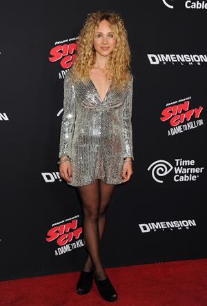 Juno Temple Sin City: A Dame to Kill For Los Angeles premiere