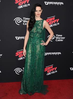 Eva Green Sin City: A Dame to Kill For Los Angeles premiere August