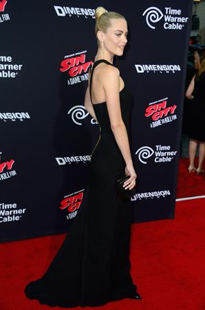 Jaime King Sin City: A Dame to Kill For Los Angeles premiere August