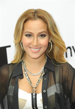 Adrienne Bailon Something for Nothing the art of Rap Screening in New York on 12/6/2012
