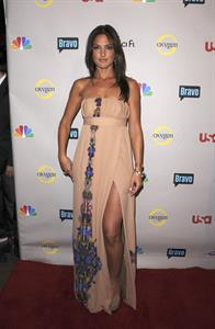 Minka Kelly NBC Universal 2008 press tour all star party in Beverly Hills