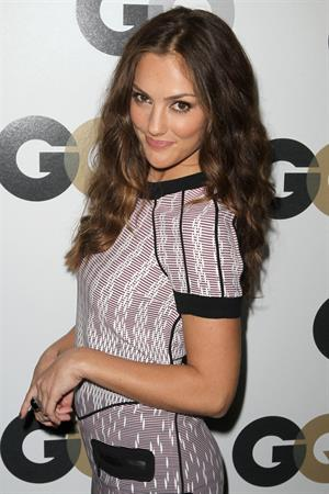Minka Kelly 16th Annual GQ Men of the Year party at Chateau Marmont on November 17, 2011