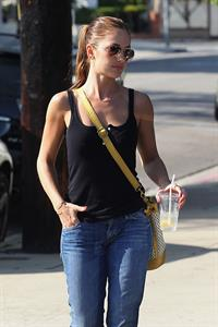 Minka Kelly in LA - August 22, 2012
