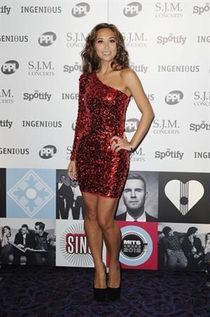 Myleene Klass Music Industry Awards, London - November 5, 2012