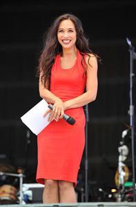 Myleene Klass - Jubilee Festival, June 2,2012