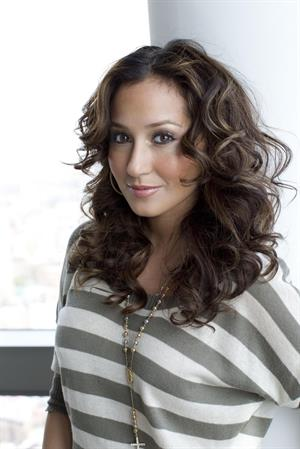 Adrienne Bailon Tribeca Film Festival portraits on April 27, 2011