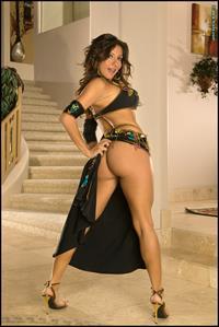Candice Cardinele in lingerie - ass