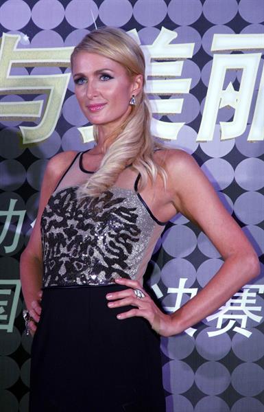Paris Hilton - Miss Universe China Celebration Kerry Hotel in Shanghai Sept 1, 2012