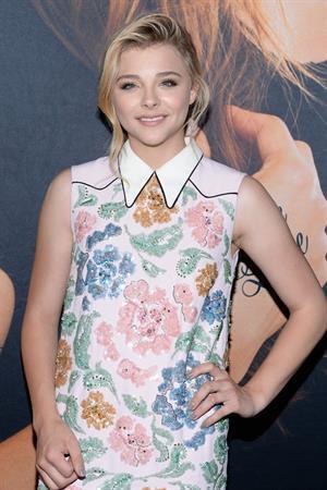 Chloe Grace Moretz - If I Stay New York premiere August 18, 2014