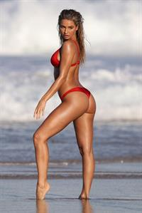 Madison Edwards during a photoshoot on Tamarama Beach in Sydney on August 23, 2017
