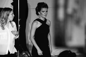 Agnieszka Radwanska behind the scenes Photoshoot Leus Polska July 18, 2014