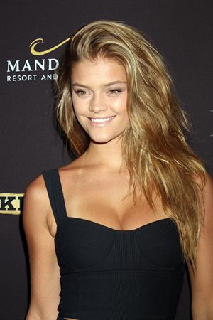 Nina Agdal Big Knockout Boxing inaugural event in Las Vegas August 16, 2014