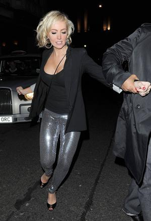 Aisleyne Wallace Mahiki Club on March 2, 2011