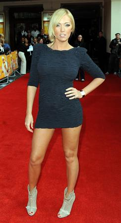 Aisleyne Wallace world premiere of the Infidel in London on April 8, 2010