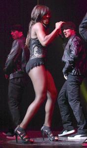 Alexandra Burke UDO Dance Championships Blackpool on August 30, 2010