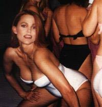 Belinda Carlisle in lingerie
