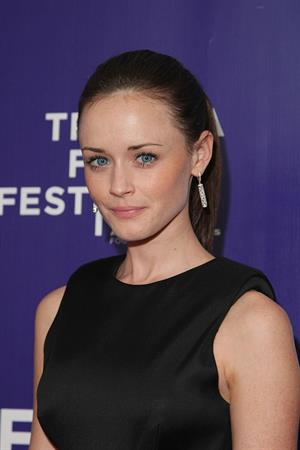 Alexis Bledel attends the premiere of The Good Guy during the 2009 Tribeca Film Festival at SVA Theater in New York City