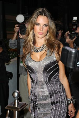 Alessandra Ambrosio Fontainebleau Miami Beach grand opening in Biami Beach