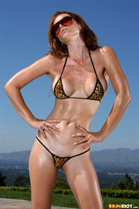 Heather Van Deven in a bikini