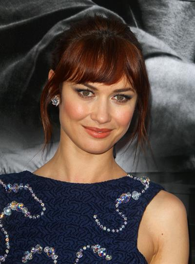 Olga Kurylenko at The November Man Los Angeles premiere August 13, 2014