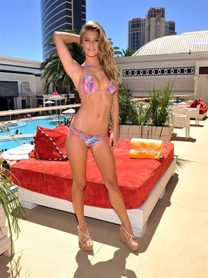 Nina Agdal Luli Fama Model Search Finals, Las Vegas, Aug 15, 2014