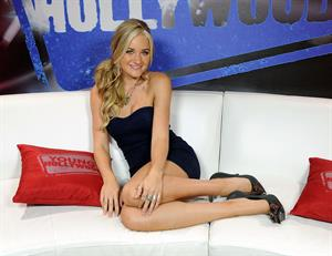 Amanda Michalka visits Young Hollywood Studios on September 28, 2010