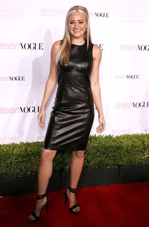Amanda Michalka 8th annual Teen Vogue Young Hollywood Party on December 1, 2010