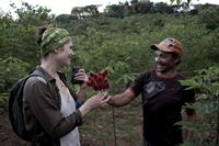 Gemma Arterton Visits Sky Rainforest Rescue, 01 Jul 2011