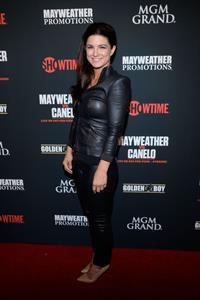 Gina Carano Pre-Fight Party For Floyd Mayweather Jr. vs Canelo Alvarez Title Fight on September 14, 2013