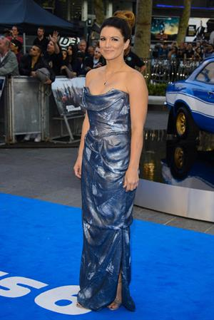 Gina Carano attends the Fast and Furious 6 - World Premiere, May 7, 2013