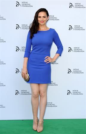 Hayley Atwell Novak Djokovic Foundation - London Gala Dinner, July 8, 2013
