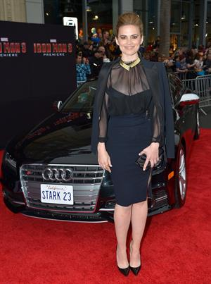 Hayley Atwell attending the  Iron Man 3  - Los Angeles Premiere, April 24, 2013