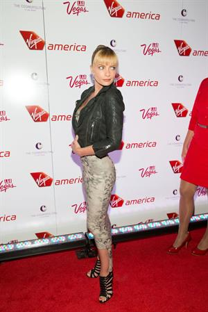 Jaime Pressly attending the Virgin America Celebrates New Los Angeles To Las Vegas Route in Las Vegas - April 22, 2013
