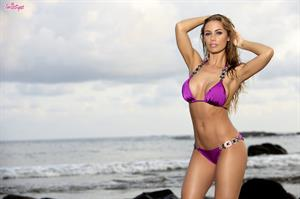 Beached Babe.. featuring Nicole Aniston   Twistys.com