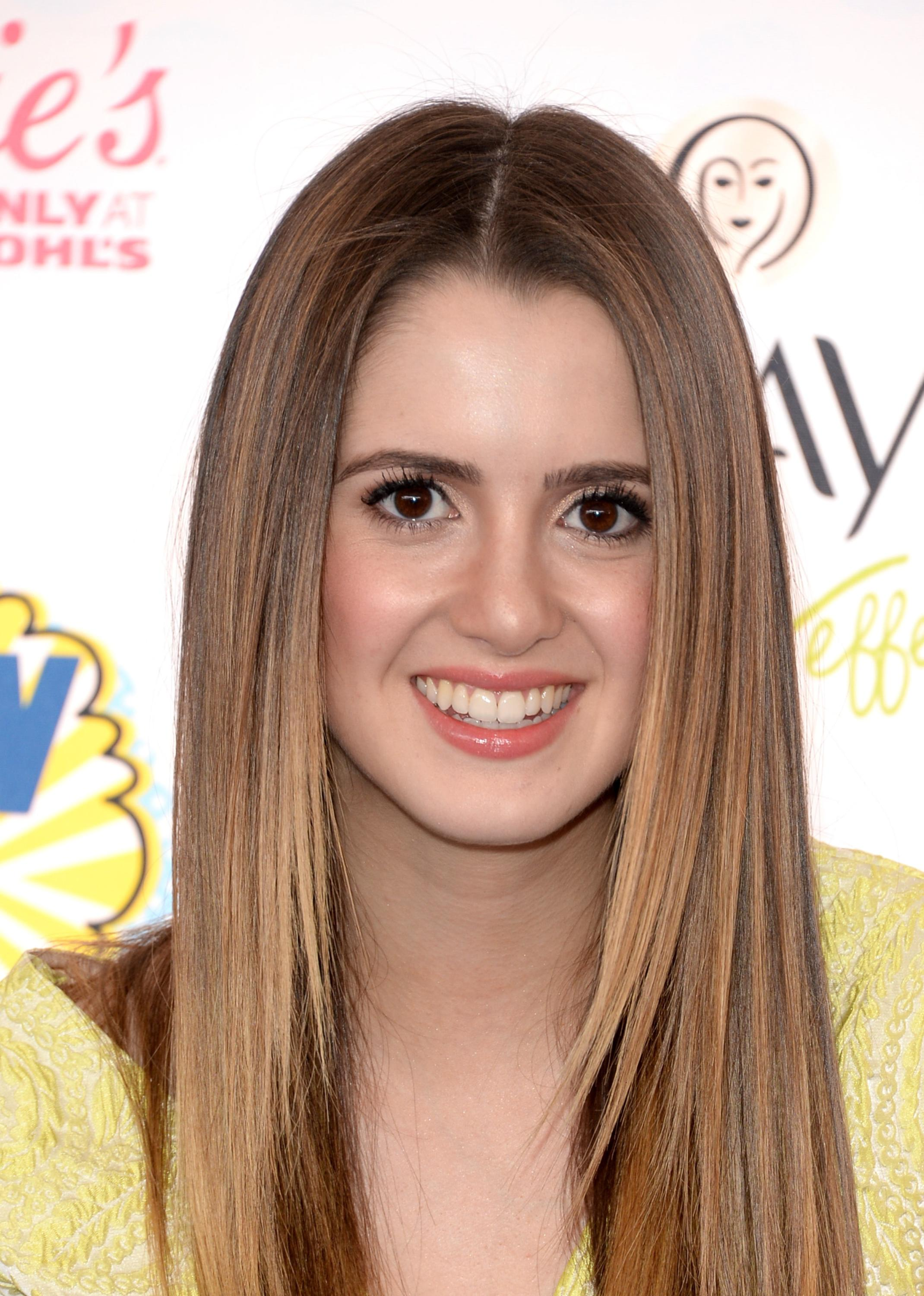 Laura Marano attending the 2014 Teen Choice Awards in Los Angeles on August 10, 2014