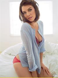 Lauren Cohan in lingerie