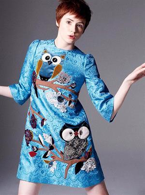 Karen Gillan for T. N. Photoshoot for InStyle September 2014