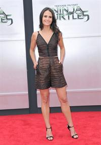 Jordana Brewster at the Teenage Mutant Ninja Turtles L.A. premiere