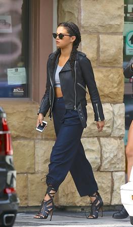Selena Gomez leaving a convenience store in L.A.