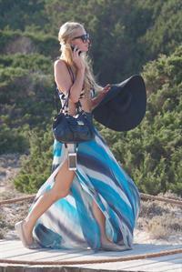 Paris Hilton On Holiday In Formentera