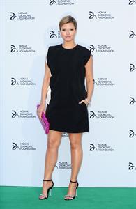 Holly Valance attending the Novak Djokovic Foundation Gala Dinner in London, July 8, 2013