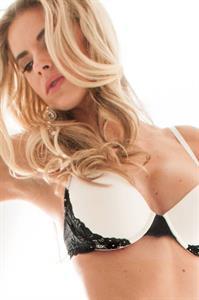 Brooke Mangum in lingerie