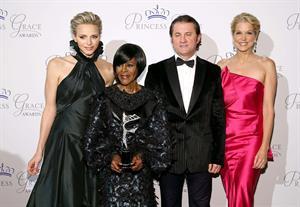 Paula Zahn Princess Grace Awards Gala (October 30, 2013)