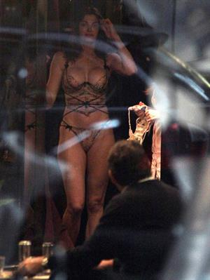 Stephanie Seymour – at a lingerie store in Italy 10/22/13