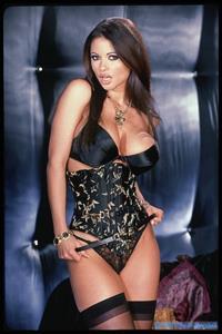 Veronika Zemanova in lingerie
