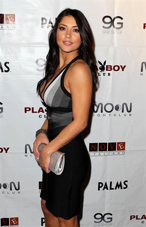 Arianny Celeste UFC the Ultimate Fighter 12 finale after party in Las Vegas on December 4, 2010