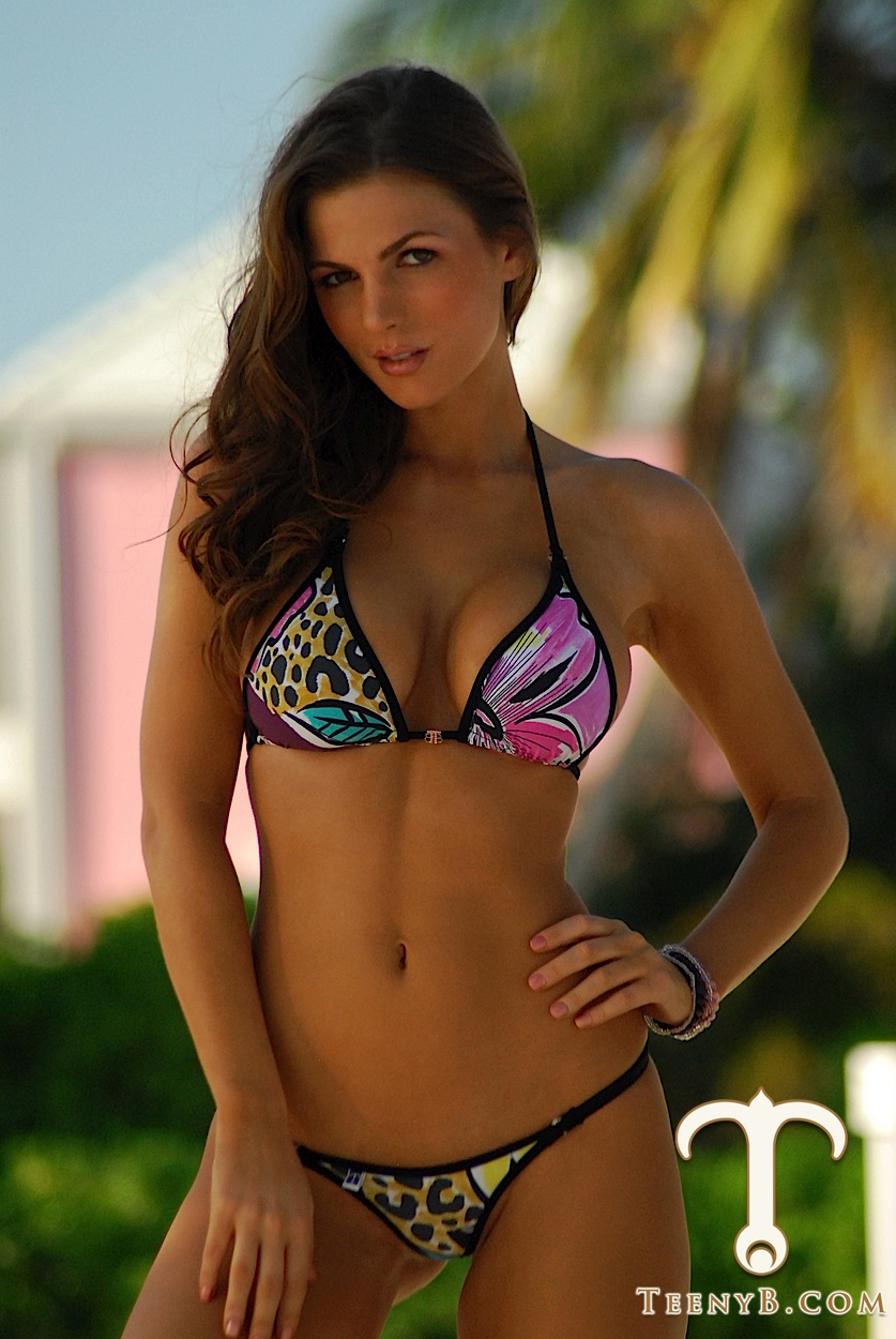 Jillian Beyor in a bikini