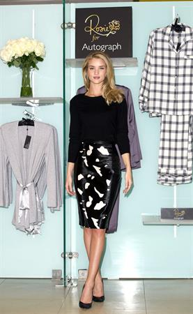 Rosie Huntington-Whiteley Marks and Spencer Lingerie Launch in London, October 16, 2013